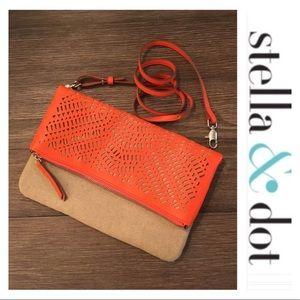 Stella & Dot Waverly Petite Orange NWOT
